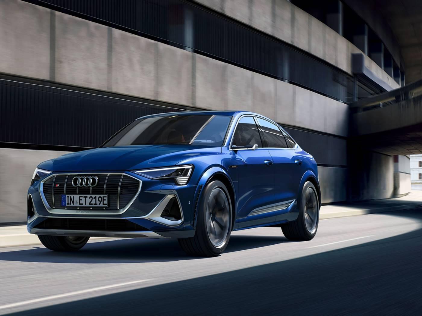 Audi e-tron S Sportback nouvelle electrique essai