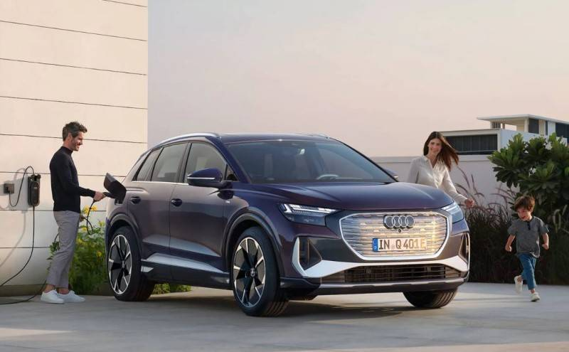 Recharge Audi electrique à domicile q4 e-tron