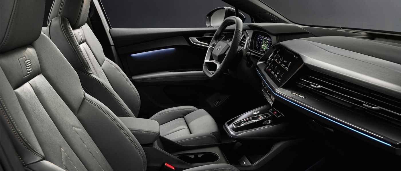 Intérieur Audi Q4 passager sièges
