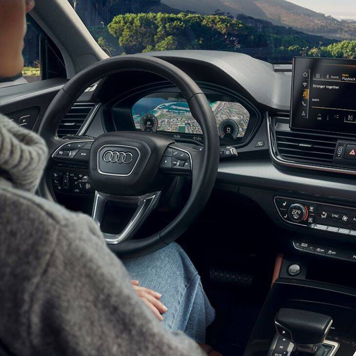 Audi Q5 virtual cockpit MMI carplay écran