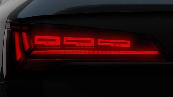 Audi Q5 phare Matrix Led arrière différent