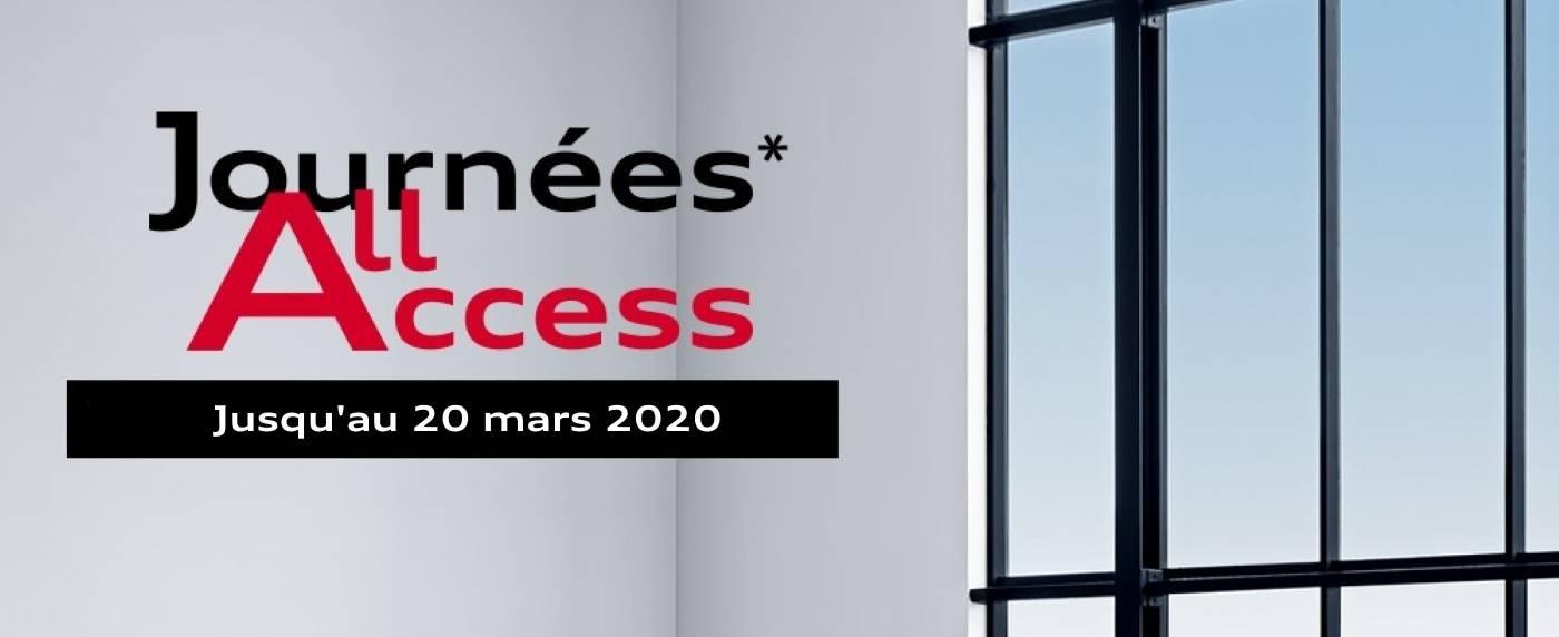 Audi Neuve Mars 2020 : Journées All Access, taux
