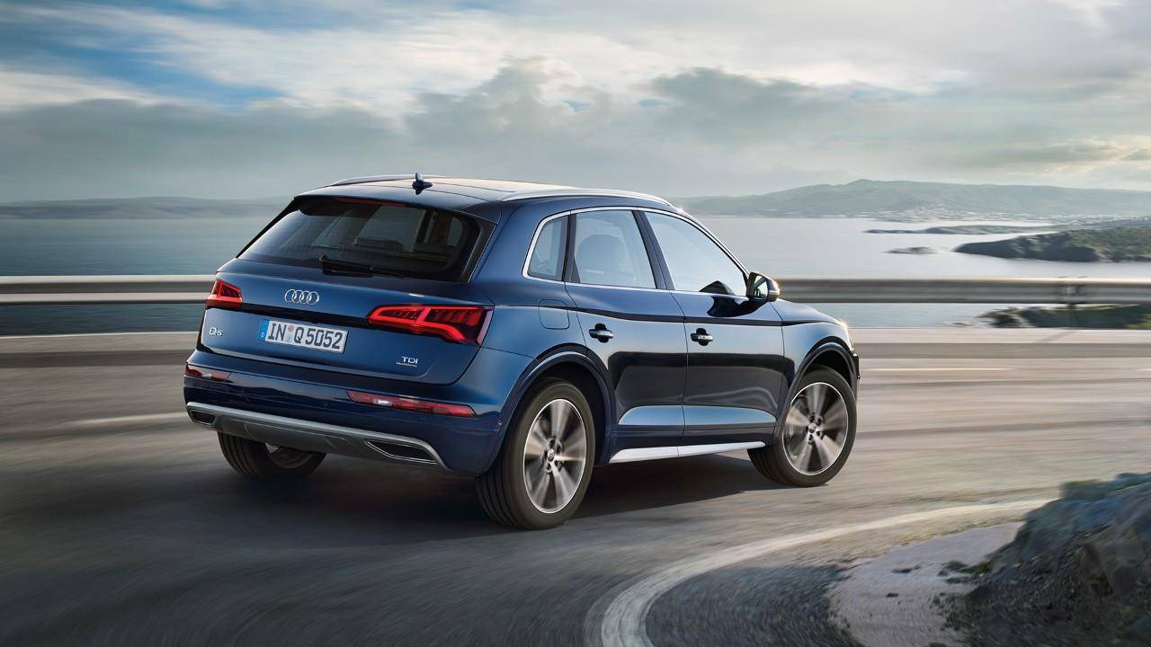 Audi Q5 2018 2019 2020 dos arriere occasion