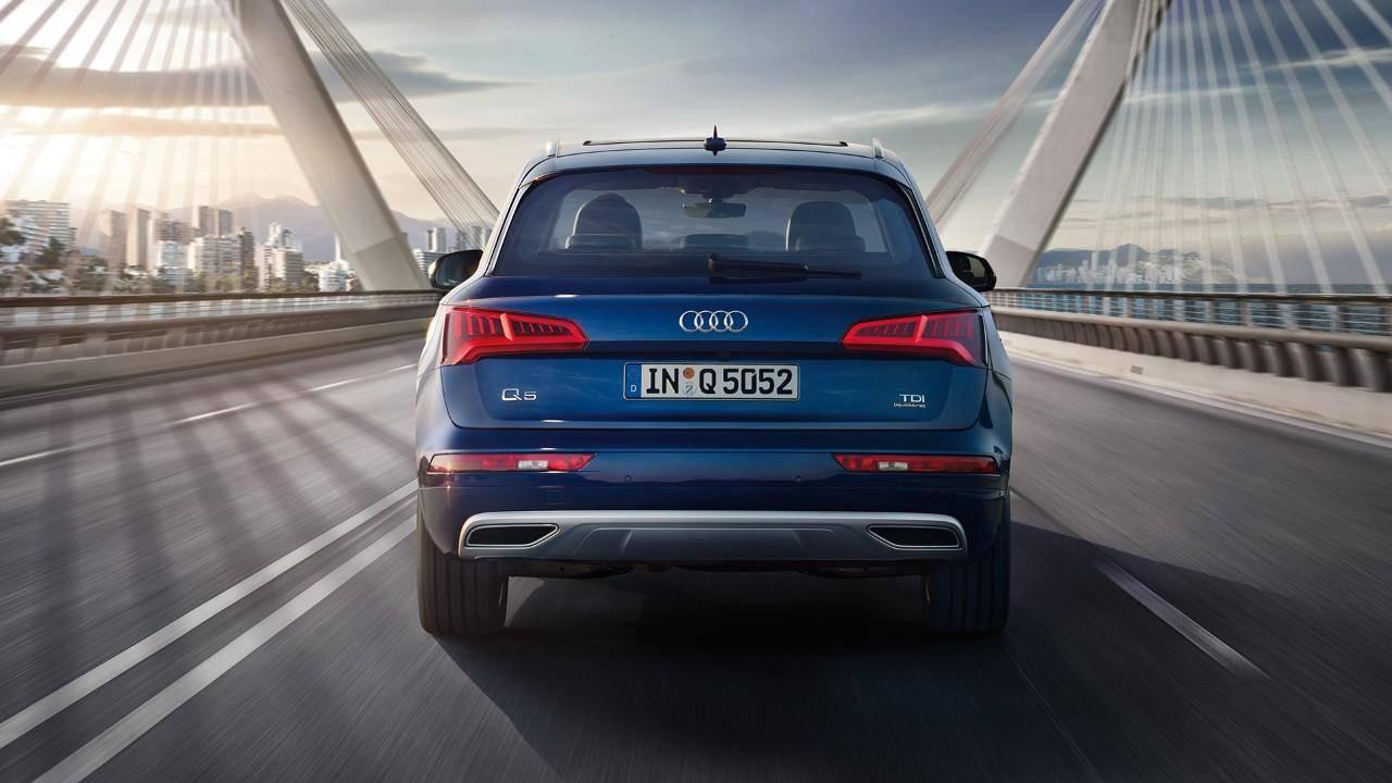 Audi Q5 Nouvelle 2018 2019 2020 de dos