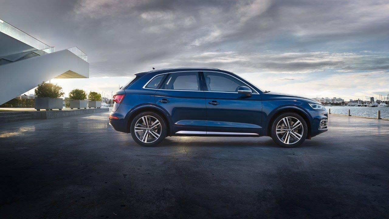 Audi Q5 Nouvelle 2018 2019 profil bleue occasion