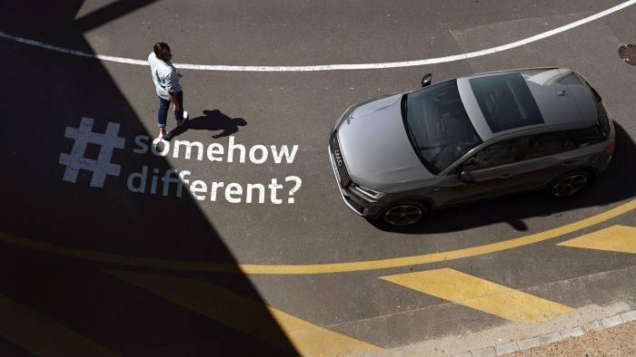 Nouvelle Audi Q2 Prix neuve occasion vue dessus