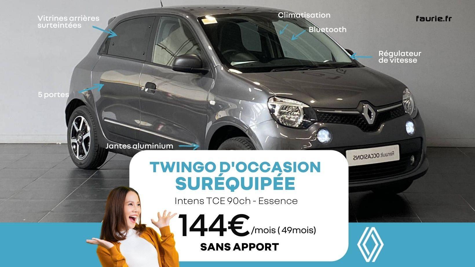 Opé Leclerc Twingo