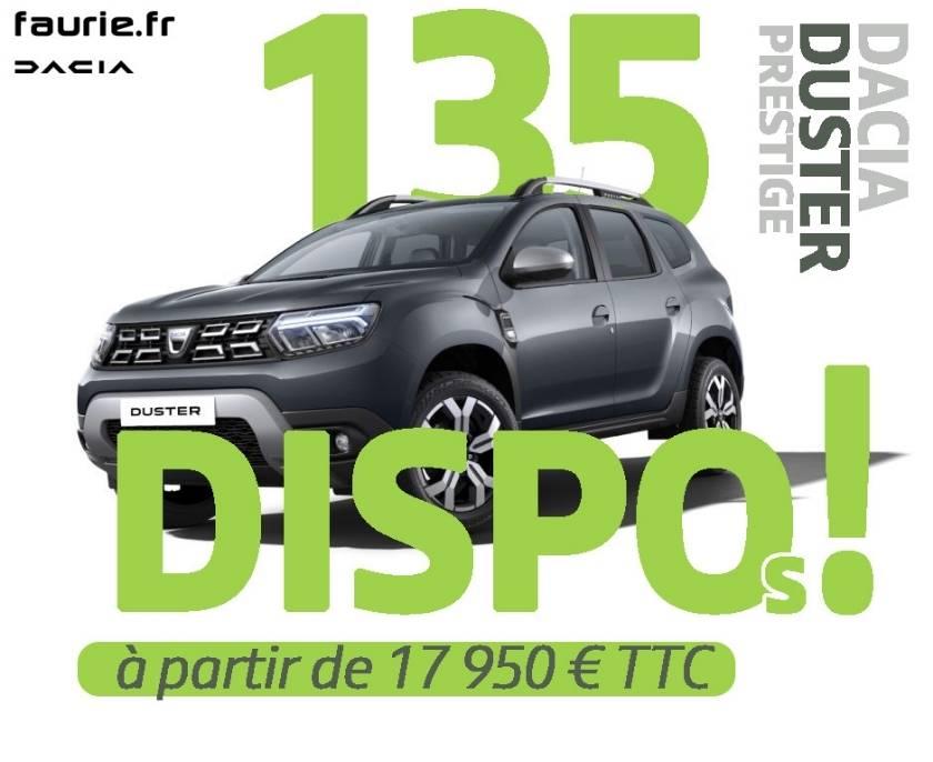 Offre Dacia Duster Prestige