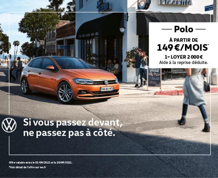 Offre Polo VW