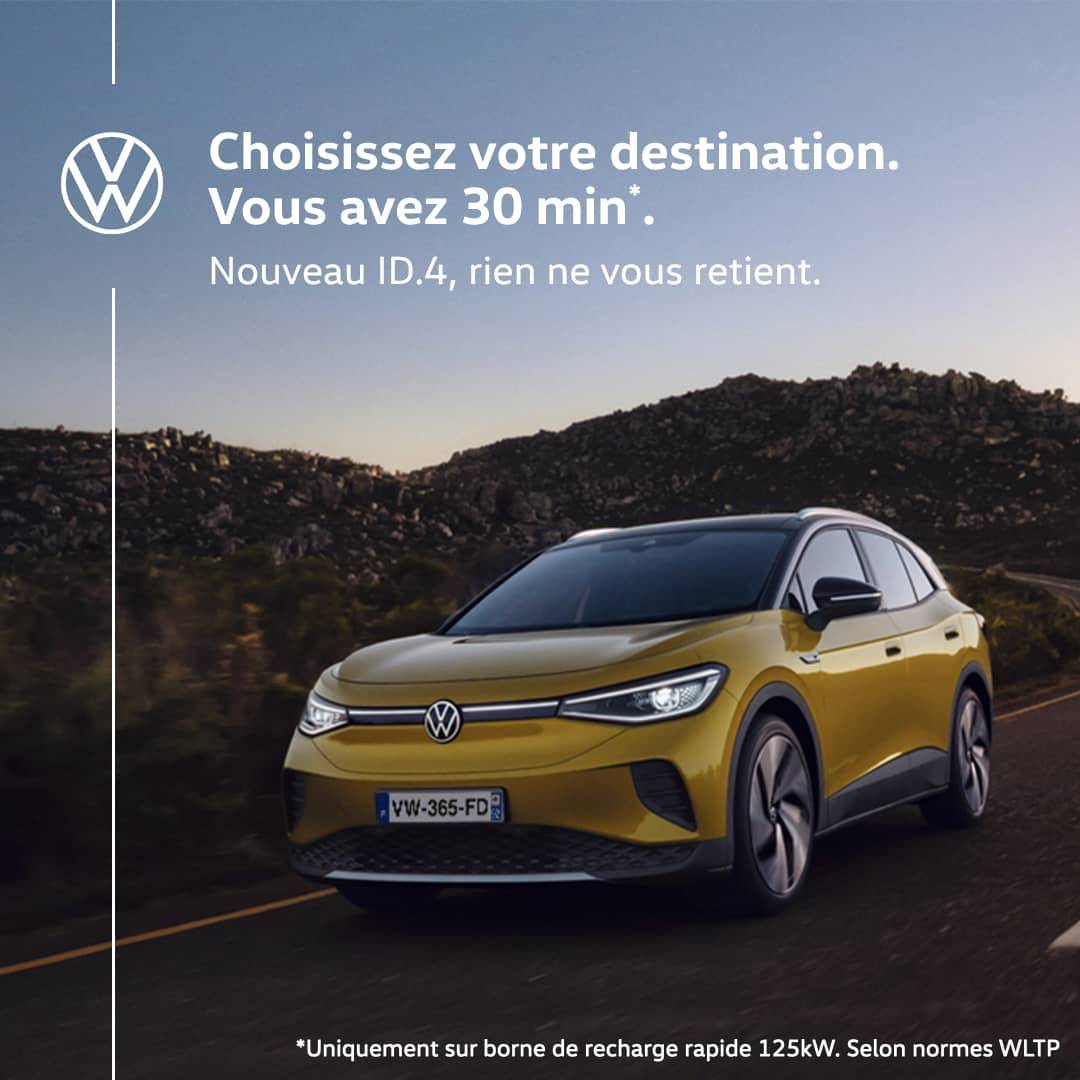 Offre Volkswagen avril 2021