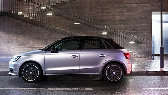 Audi A1 Midnight series
