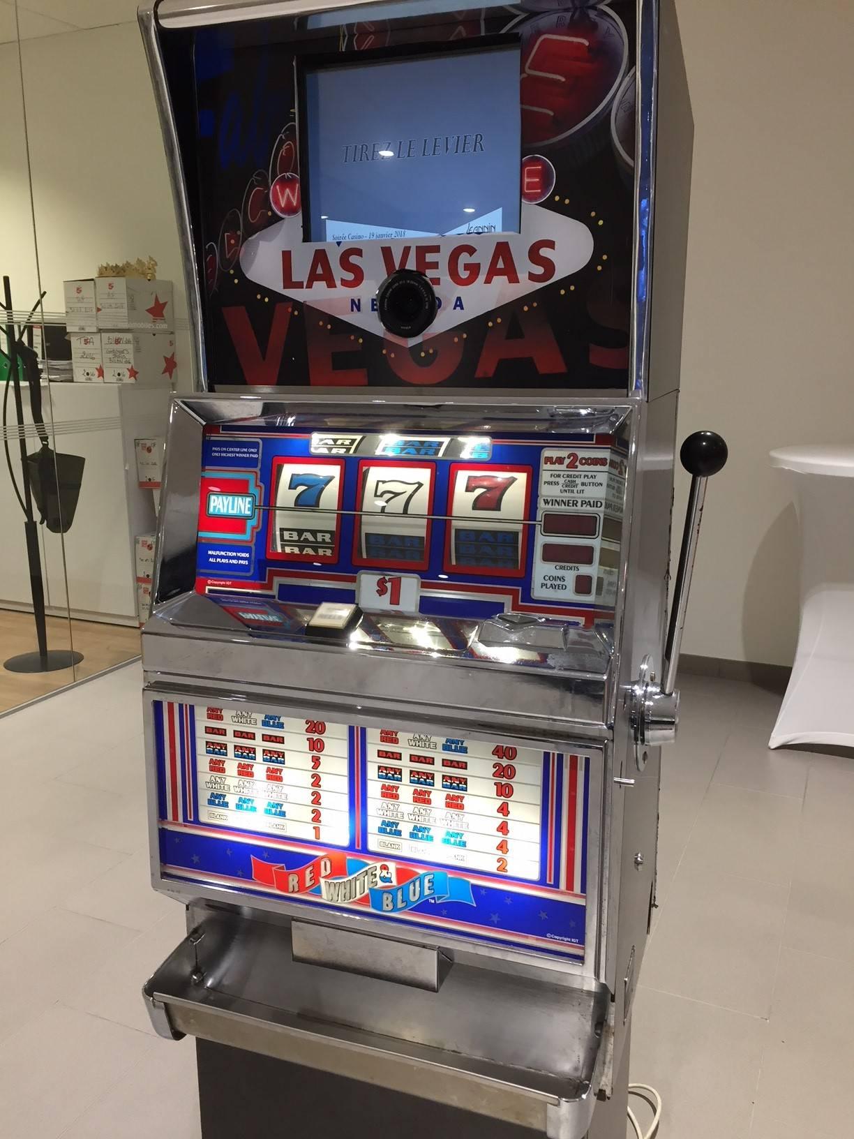 d'un jeux de casino à roulettes